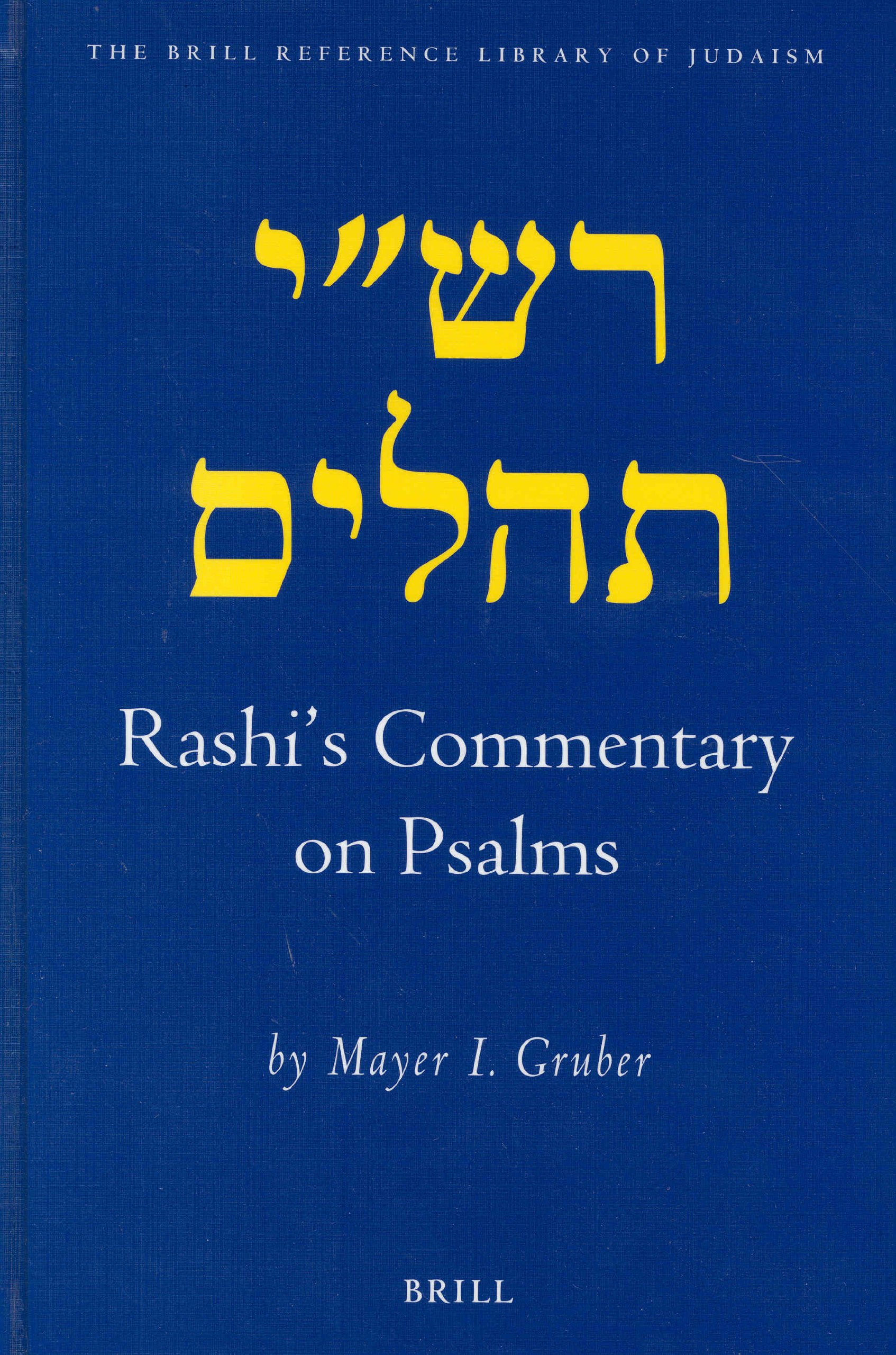 Download Rashi's Commentary on Psalms (Brill Reference Library of Judaism.) ebook