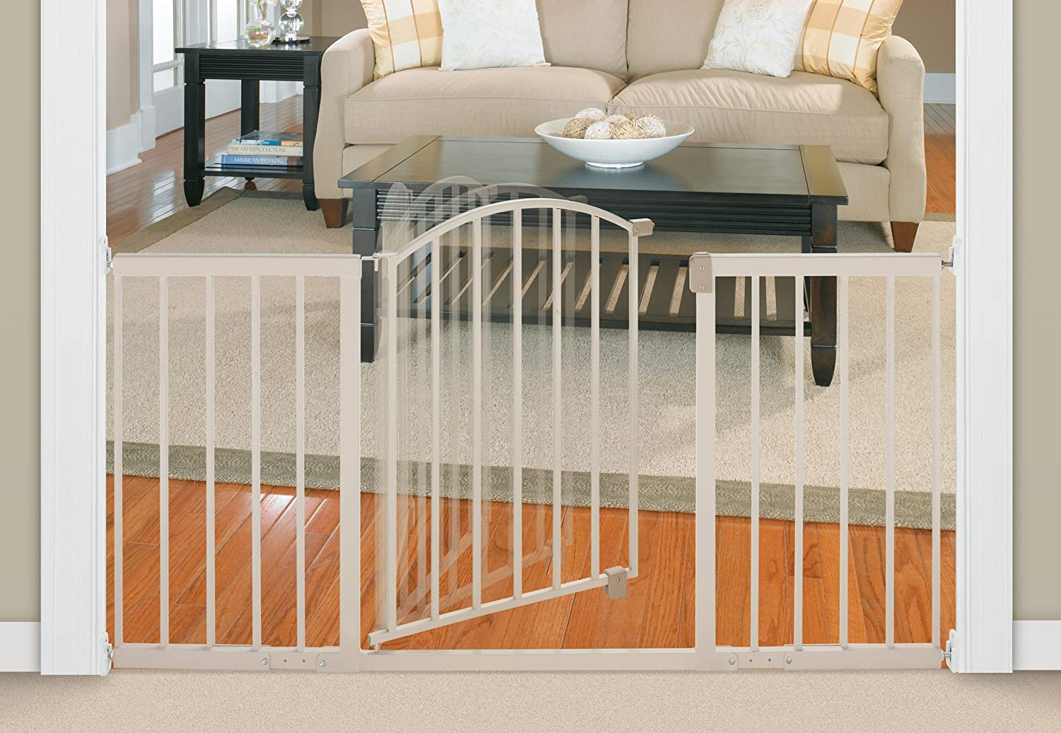 Superbe Amazon.com : Summer Infant Metal Expansion Gate, 6 Foot Wide Walk Thru,  Neutral Finish : Indoor Safety Gates : Baby