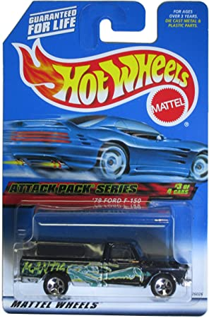 Mattel Hot Wheels 2000 79 Ford F-150 Attack Pack Series #3 of 4 ...