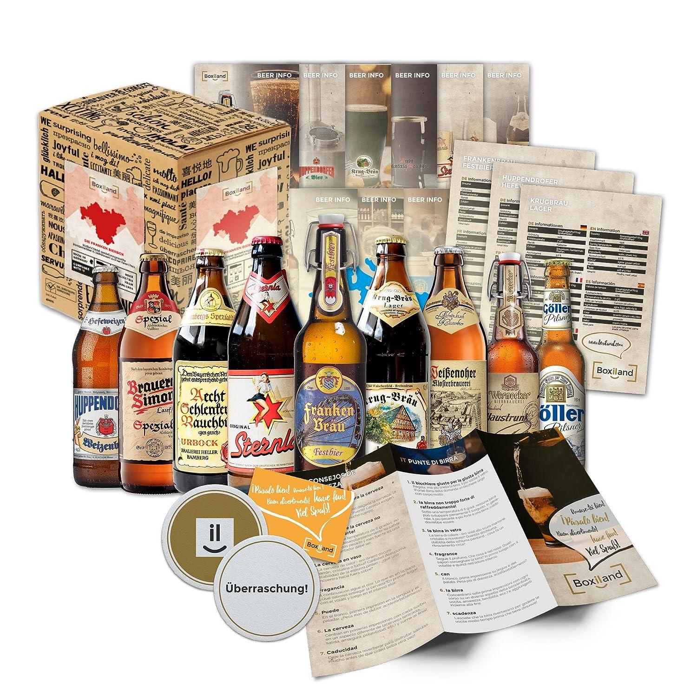 Fränkische Bier Spezialitäten als Probierpaket zum verschenken