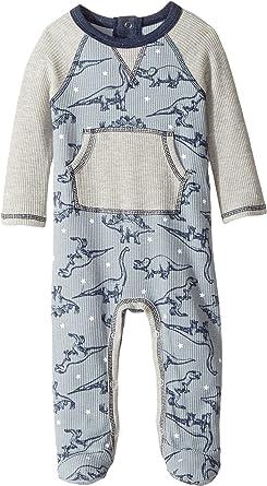 cac79a9a5f Amazon.com  Mud Pie Mens Dinosaur Sleeper (Infant)  Clothing