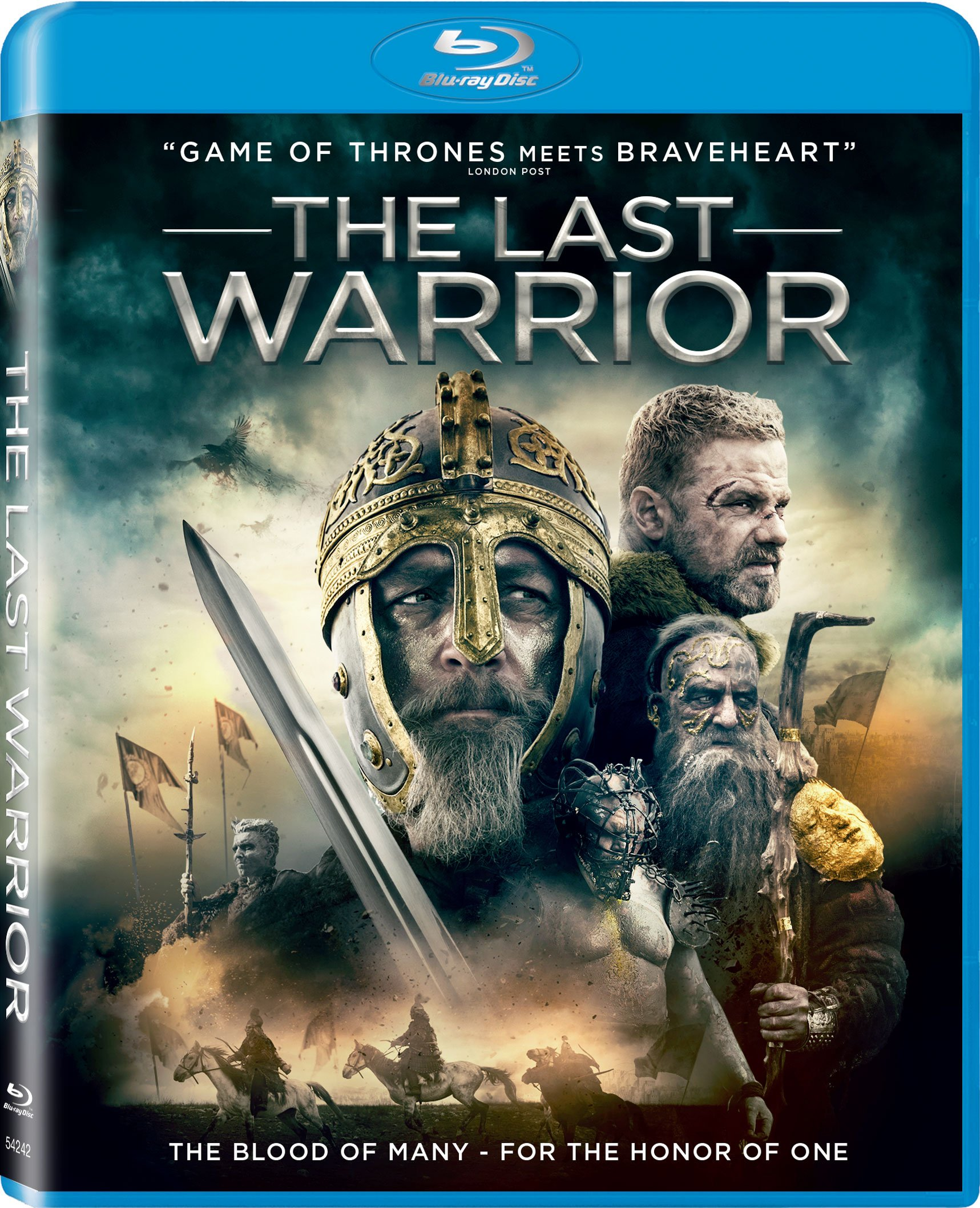 Blu-ray : The Last Warrior (Subtitled)