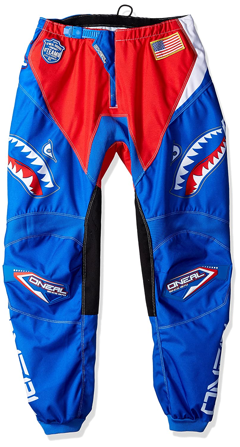 O'neal Element Mens Afterburner Pant (Blue/Red, 30) by O'neal
