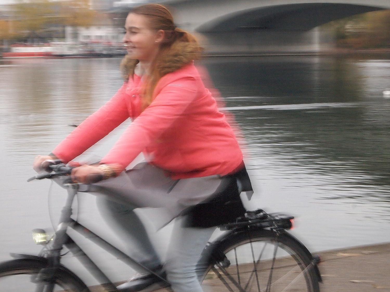 Drachenhaut r/éfl/échissante lalternative rapide au pantalon de pluie et au poncho pour les cyclistes