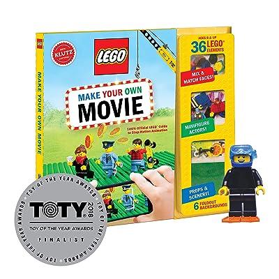 Klutz Lego Make Your Own Movie Activity Kit: Klutz: Toys & Games