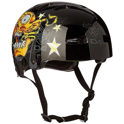 TSG Evolution Art Design Goldbeck Helmet goldbeck screamer / noir Taille LXL