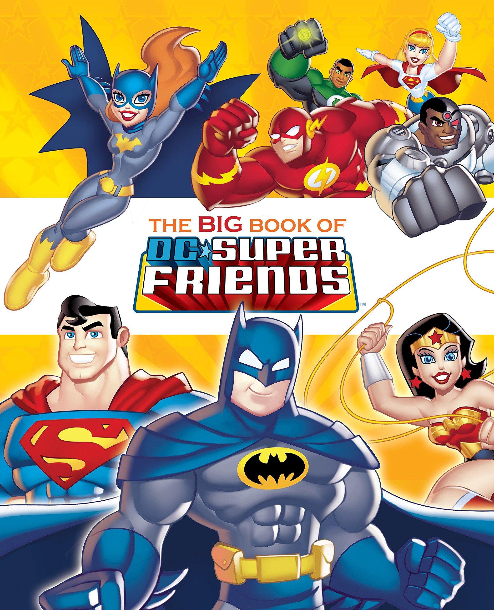 The Big Book of DC Super Friends (DC Super Friends) (Big Golden Book) pdf