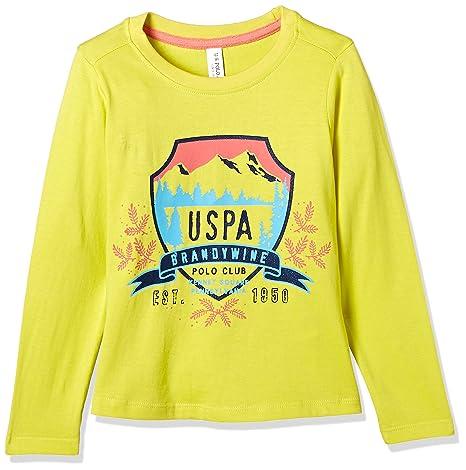 US Polo Assn. Girls' T-Shirt Girls' T-Shirts at amazon