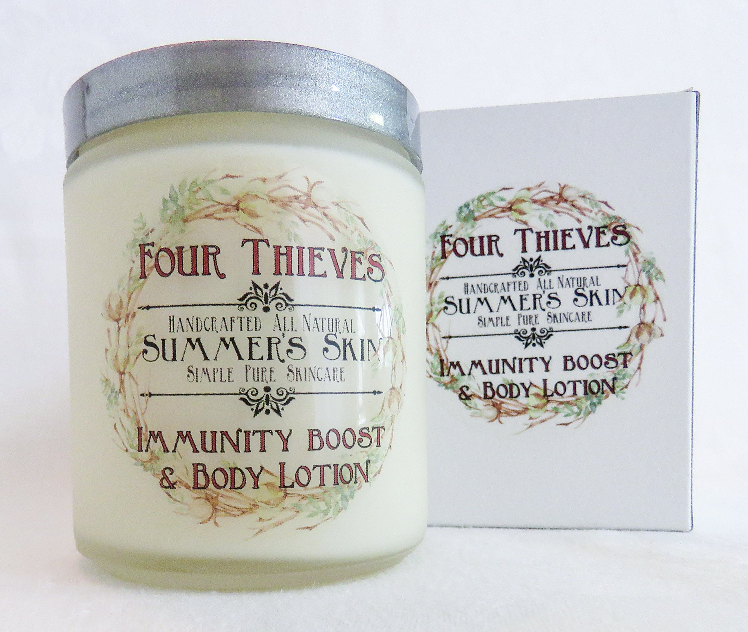Four Thieves Immunity Boosting Body Lotion by Summer's Skin