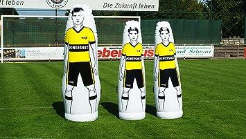 POWERSHOT Maniquí Hinchable de PVC para fútbol ...