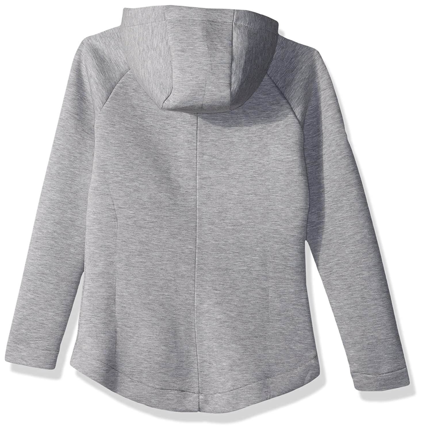 Heather Pebble Small Levelwear LEY9R Adult Women Motion Insignia Full Zip Hooded Jacket