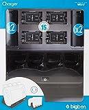 Wii U - 4+1 Charger Black (Ladestation)