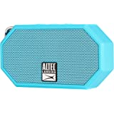 Altec Lansing IMW257-AB Mini H2O Waterproof, Sand proof, Snow proof and Shockproof Bluetooth Speaker, Aqua Blue