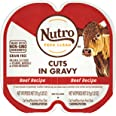 NUTRO Perfect Portions Grain Free Natural Wet Cat Food, Cuts in Gravy, 12 and 24 Count Twin-Packs