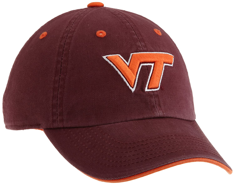 low priced 71d9c 0c01f Amazon.com   Virginia Tech Hokies Adult Adjustable Hat, Maroon Orange   Baseball  Caps   Clothing