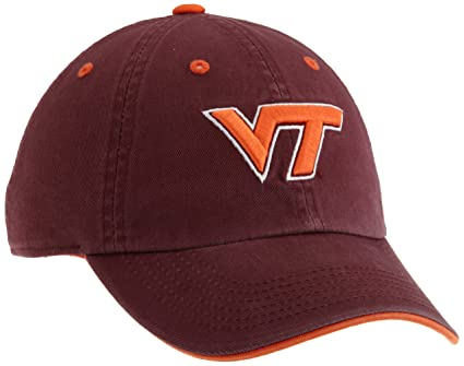 pretty nice 0edf2 13de2 Virginia Tech Hokies Adult Adjustable Hat, Maroon Orange