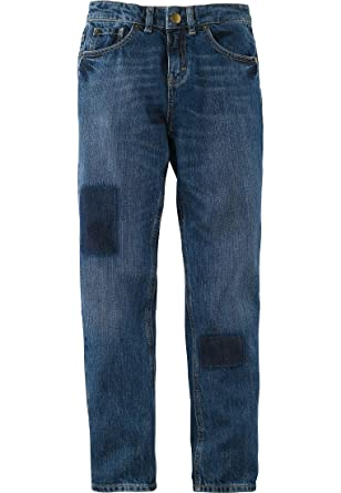 f825185c57 hessnatur Kinder Mädchen und Jungen Unisex Jeans aus Reiner Bio-Baumwolle  medium Blue 98