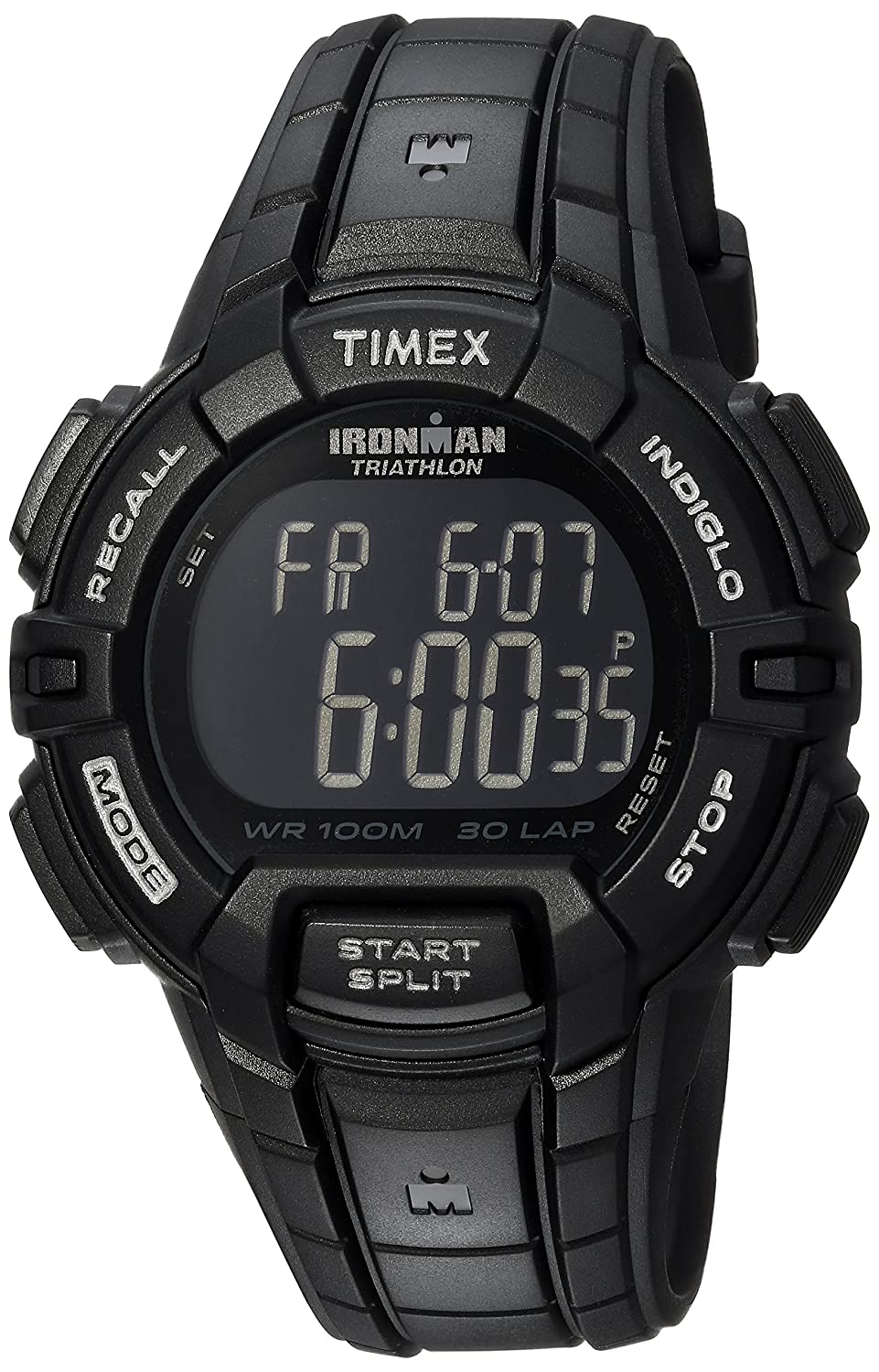 3c115e8e4601 Amazon.com  Timex Ironman Rugged 30 Full-Size Watch  Timex  Watches