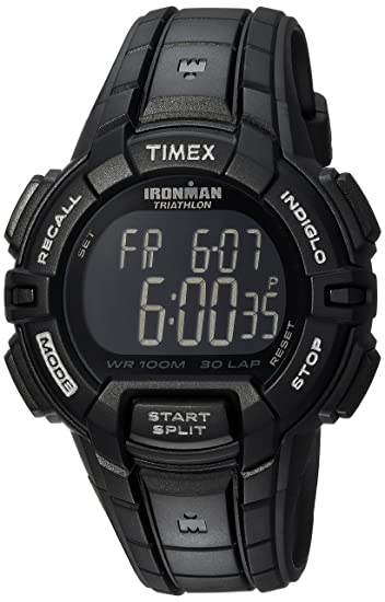 Timex Ironman 30-Lap Rugged Full-Size Watch - Black: Timex: Amazon.es: Relojes