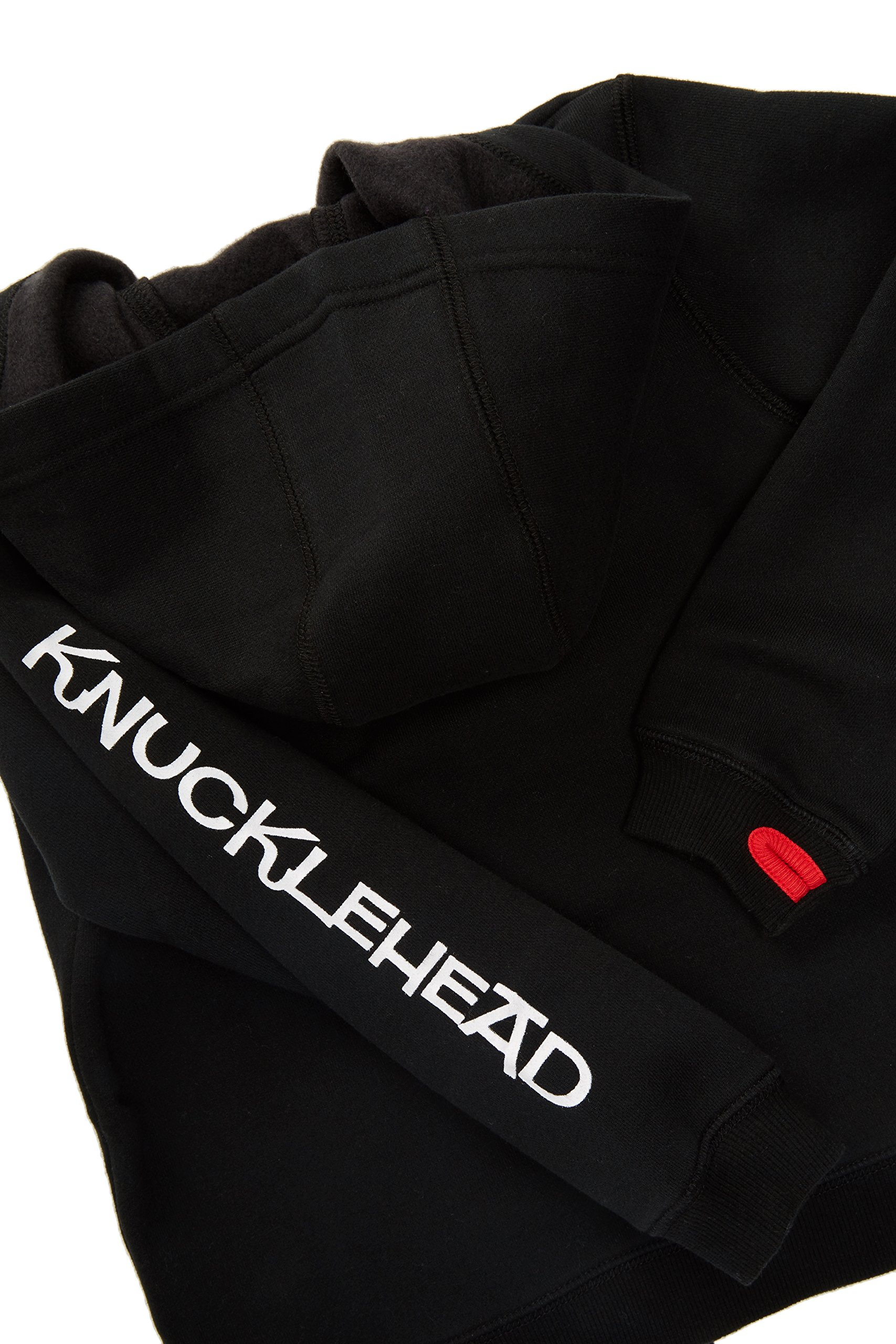 Born to Love Knuckleheads - Toddler Hooded Sweatshirt Boys Black Logo Pullover Zip Up Hoodie (8T) by Born to Love (Image #5)