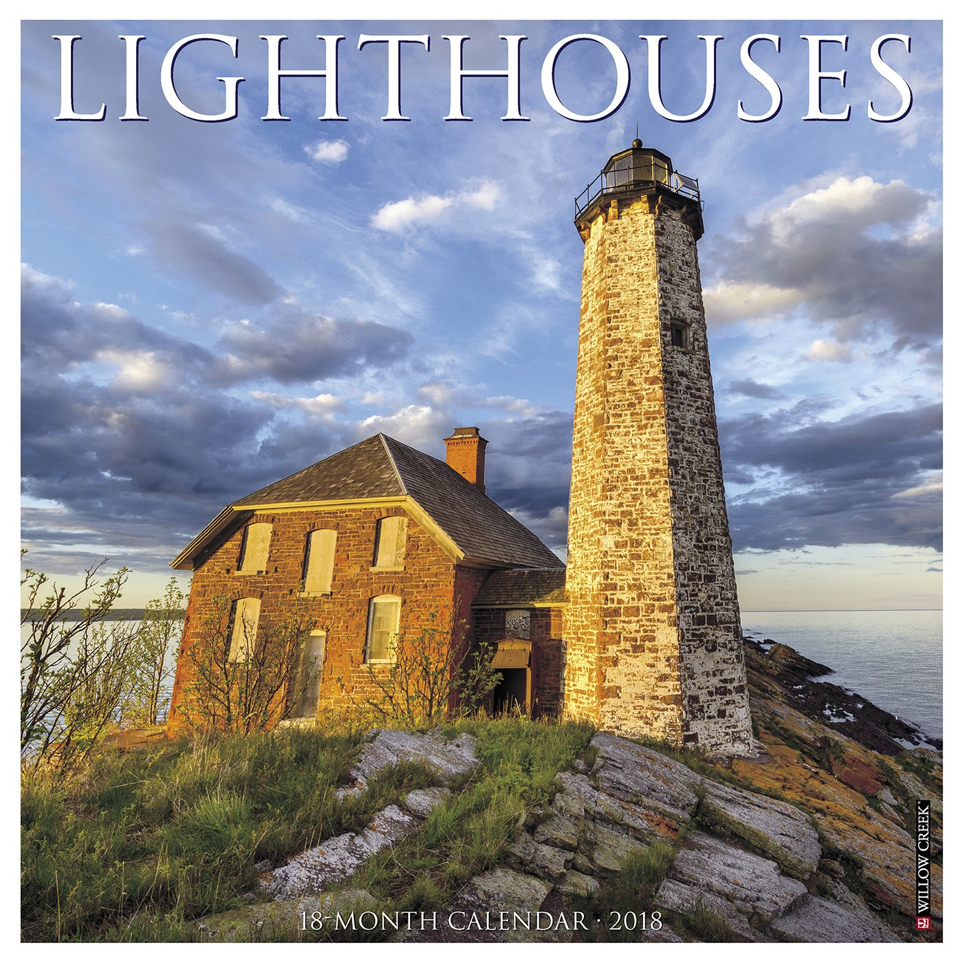 Lighthouses 2018 Calendar Calendar – Wall Calendar, June 21, 2017 Willow Creek Press 1682345459 NON-CLASSIFIABLE Travel/General