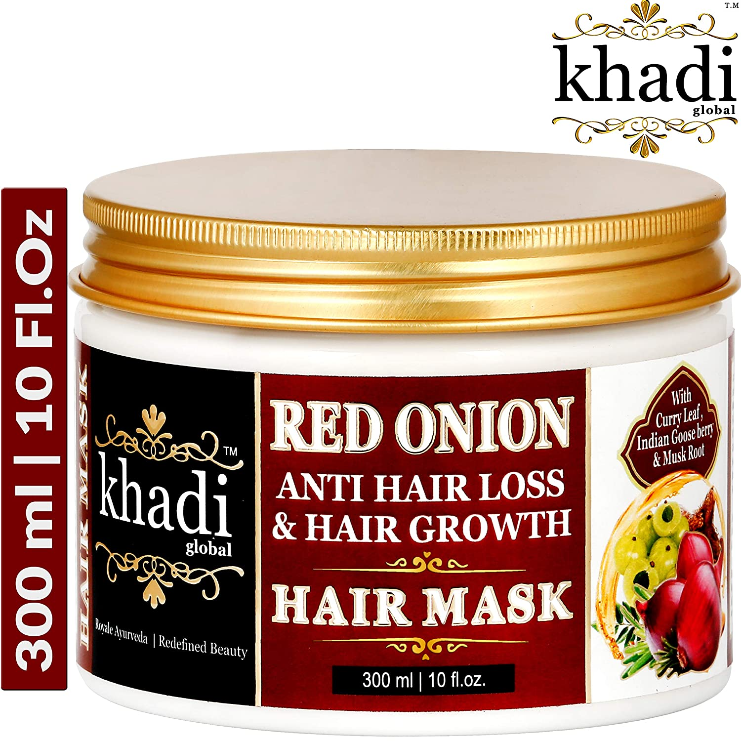 Khadi Global Red Onion Oil Anti Hair Loss & Hair Growth Deep