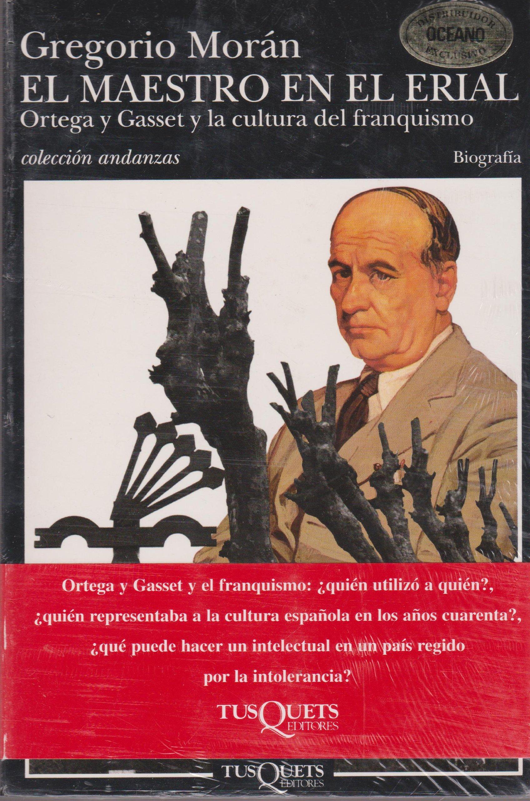 El maestro en el erial (Volumen independiente): Amazon.es: Moran, Gregorio: Libros