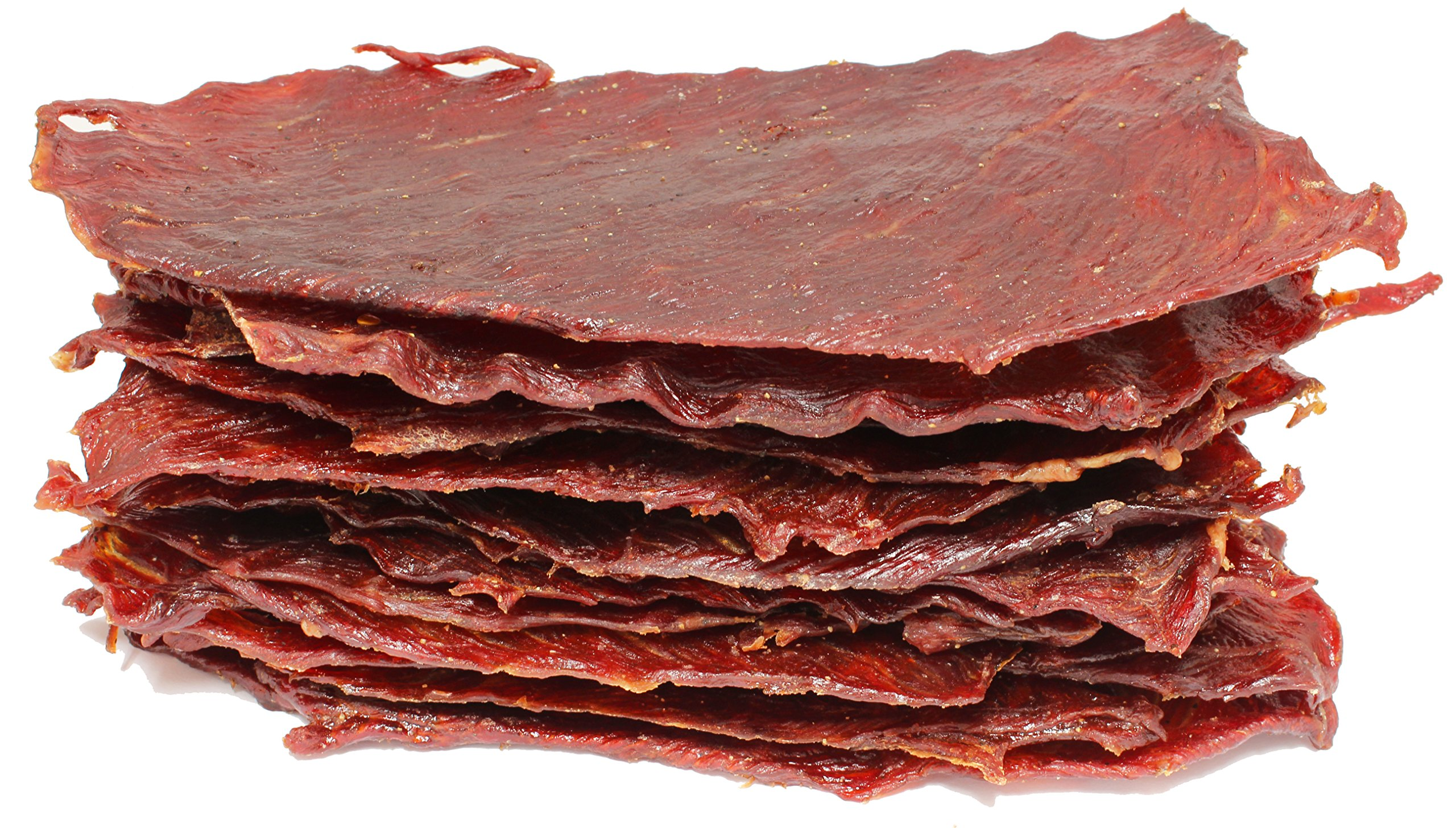 People's Choice Beef Jerky - Classic - Teriyaki - Big Slab - Whole Muscle Premium Cuts - High Protein Meat Snack - 15 Count - 1.5 Pound Bag by People's Choice Beef Jerky (Image #1)