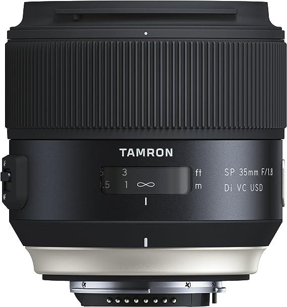 Tamron Sp35mm F 1 8 Di Vc Usd Nikon Objektiv Schwarz Kamera