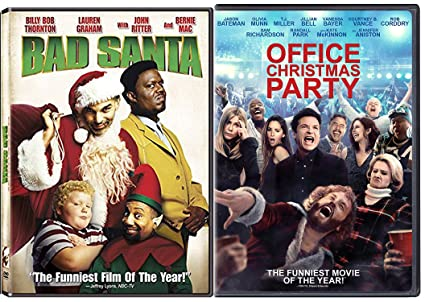 working christmas bad santa holiday dvd bundle office christmas party double feature comedy movie set