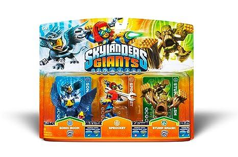 skylanders stump smash series giants series