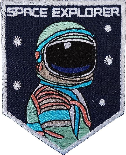 Disfraz de astronauta parche de hierro sobre/para coser en ...