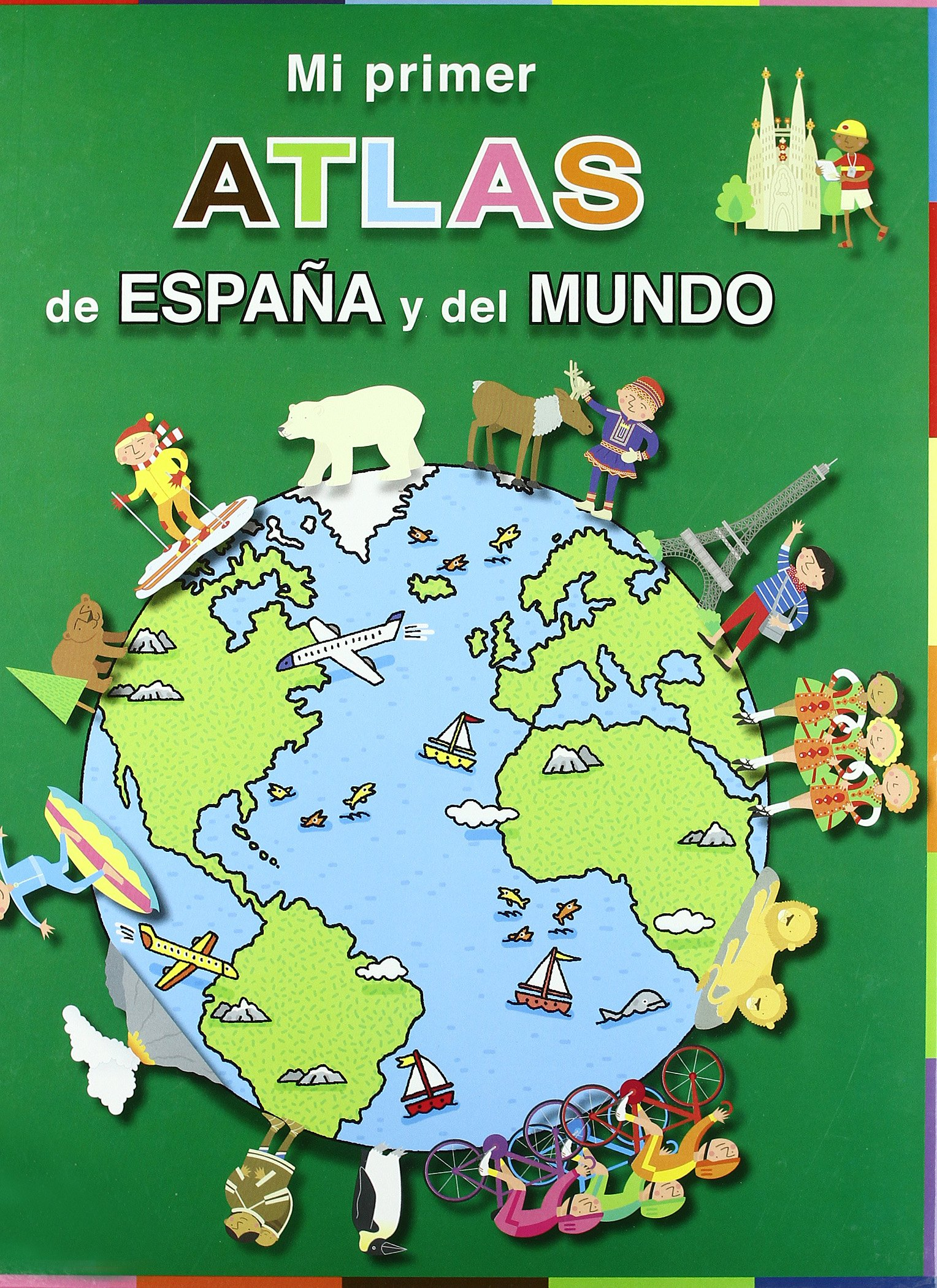 Atlas de España y del mundo (TIC TAC): Amazon.es: Potter, Tony ...