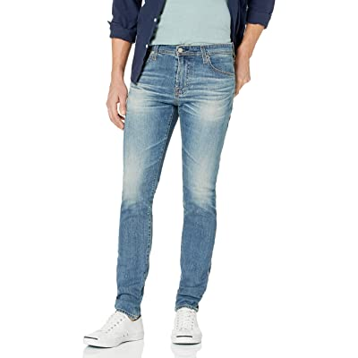 AG Adriano Goldschmied Men's The Stockton Skinny Fit Led Denim: Clothing