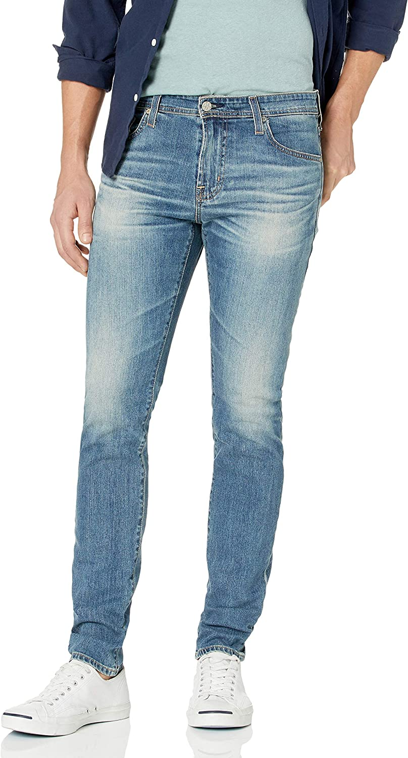AG Adriano Goldschmied Mens The Stockton Skinny Fit Led Denim