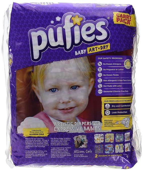 Pufies Baby Art Dry Let`S Go - 64 Pañales, talla 5, 11-20 kg: Amazon.es: Salud y cuidado personal
