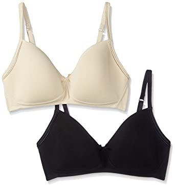 10c819c46a Marks   Spencer Padded Non Wired Bra (Pack of 2)  Amazon.in  Clothing    Accessories