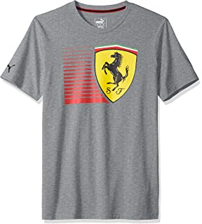 PUMA Mens Scuderia Ferrari Big Shield T-Shirt