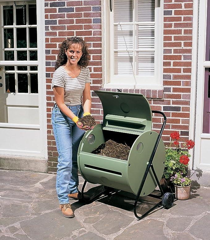 Amazon.com: Mantis – ct08001 Compostador rotatorio Compost ...
