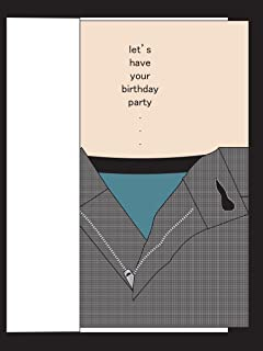 Party Pants Risque Birthday Card For Husband Wife Boyfriend Girlfriend Fiance