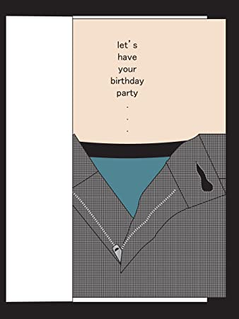 Amazon Party Pants Risque Birthday Card For Husband Wife