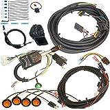 MCSADVENTURES Plug and Play Street Legal Turn Signal Kit with Horn and Hazard for 2018+ Polaris Ranger 1000, RZR 900 1000 Pro