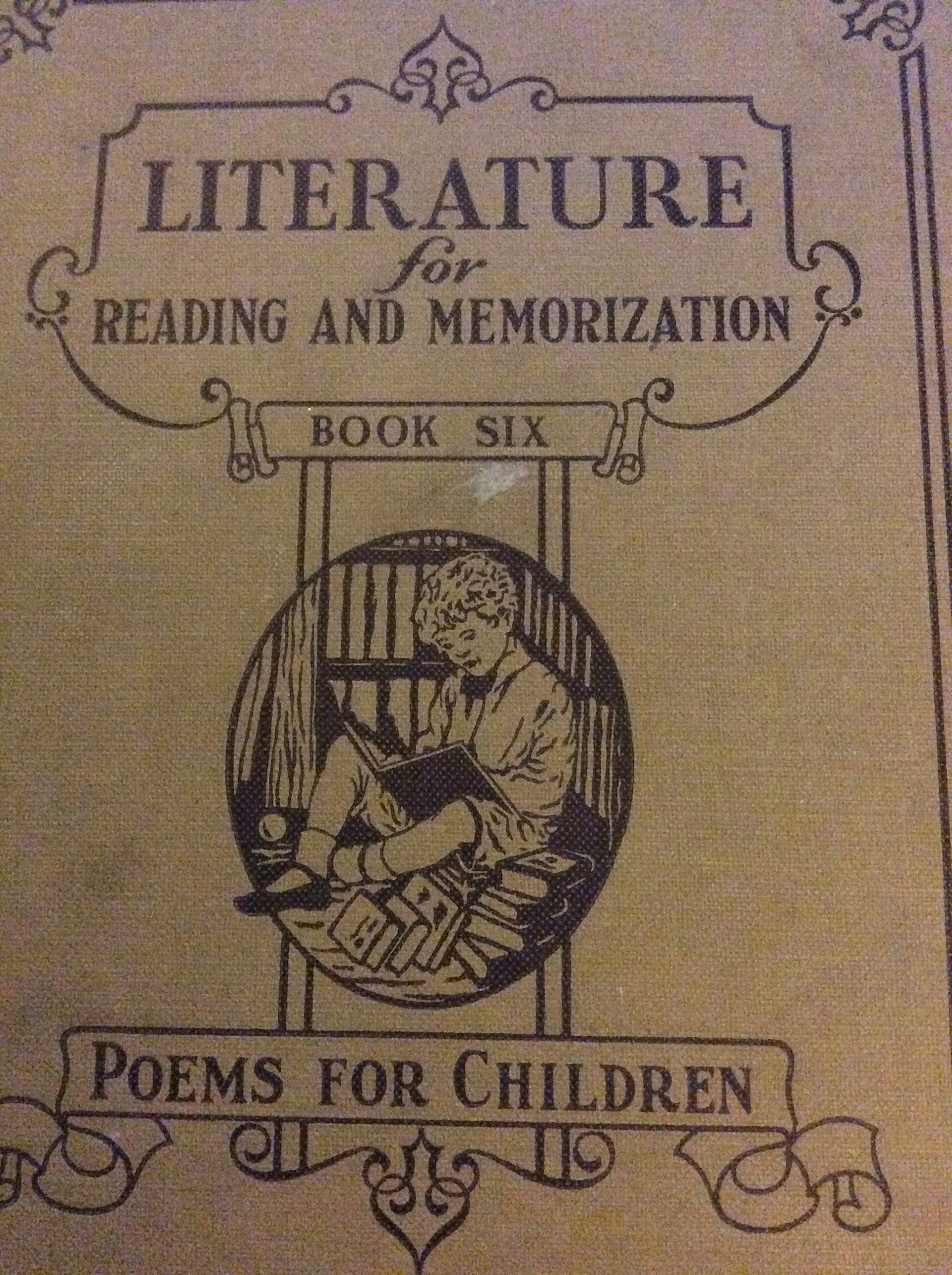Literature For Reading And Memorization Poems For Children Book Six