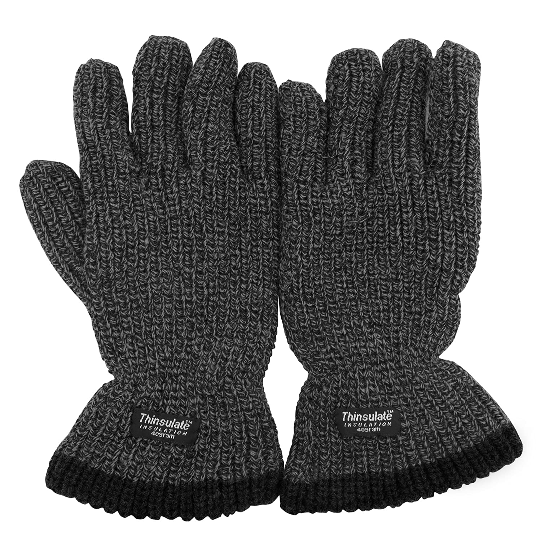 Herren Strick Thermo Handschuhe (3M 40g)