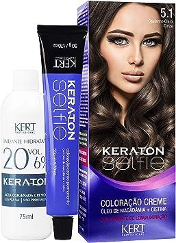 Keraton Selfie 5.1 - Castanho Claro Cinza, Keraton