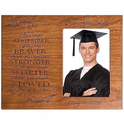 amazon com lifesong milestones personalized graduation photo frame