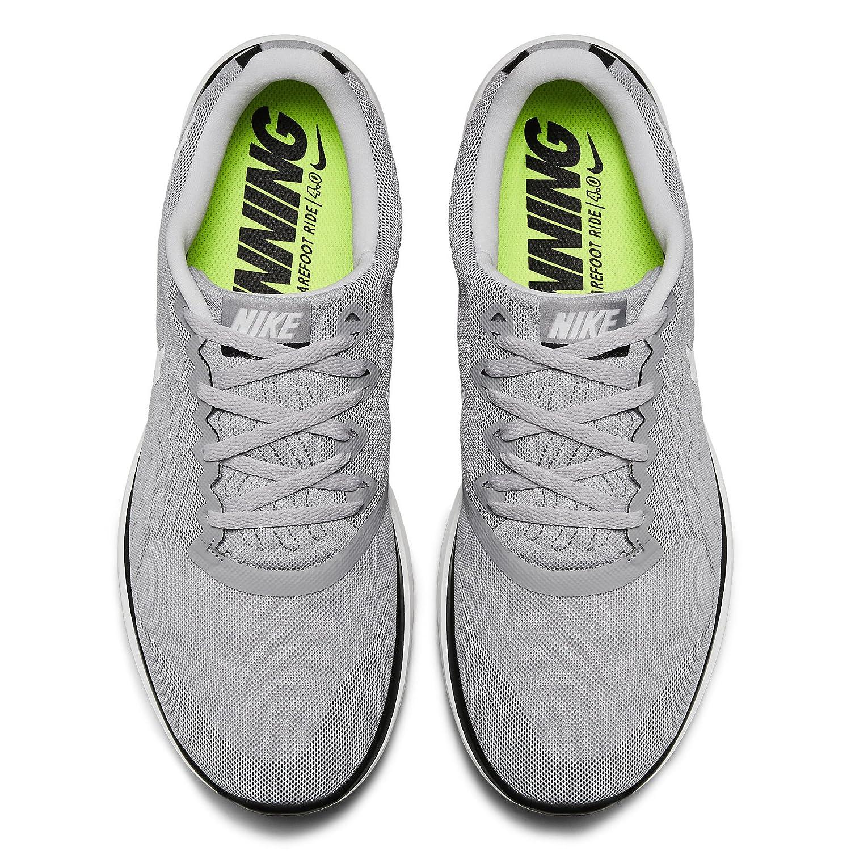 info for 859be 8918b Amazon.com   Nike Free 4.0 717988 010 Wolf Grey White Black Men s Running  Shoes (15)   Road Running