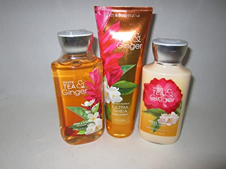 Bath Body Works White Tea and Ginger Gift Set