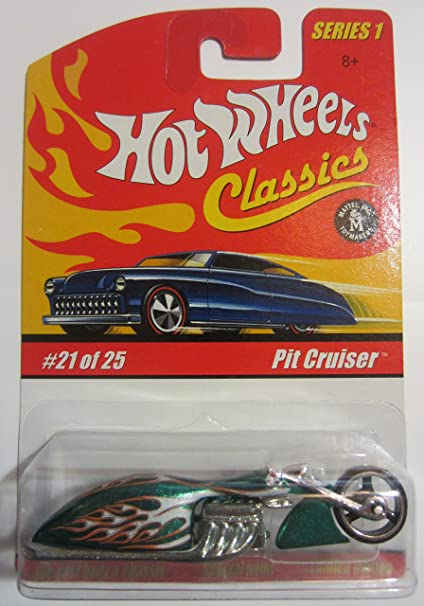 Hot Wheels 2004 Classics Series 1 Pit Cruiser Spectraflame Green