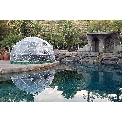 "Sonostar Hub - Standard 1/2"" PVC Bubble Dome Kit - 11.75' Patio Greenhouse, Gazebo, Play Area, Conservatory (PVC, White) : Garden & Outdoor"